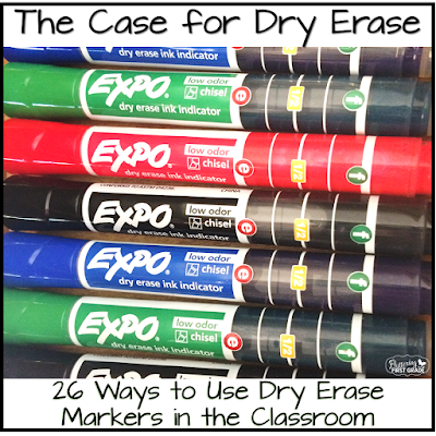 26 ways to use dry erase markers in the classroom
