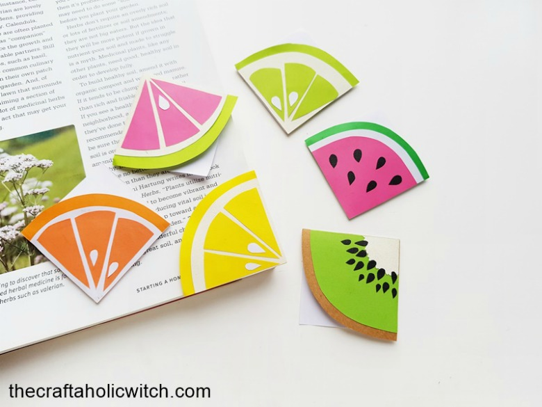 bookmark paper craft for kids