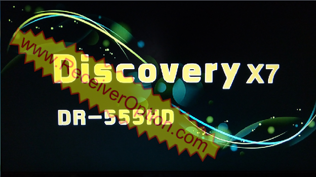 DISCOVERY X7 DR-555HD RECEIVER POWERVU KEY NEW SOFTWARE