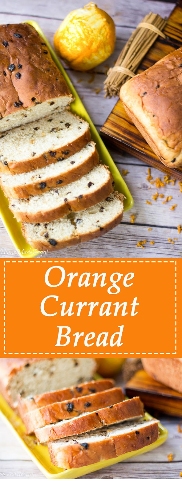 Orange Currant Bread