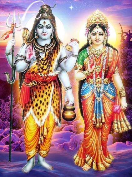 god shiva and goddess parvati 7
