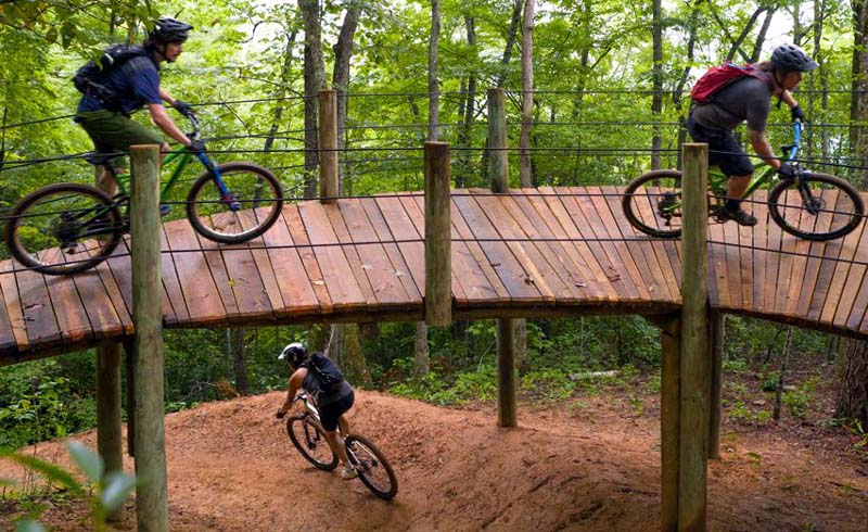 5 Fall Hiking & Biking Trails Near Charlotte