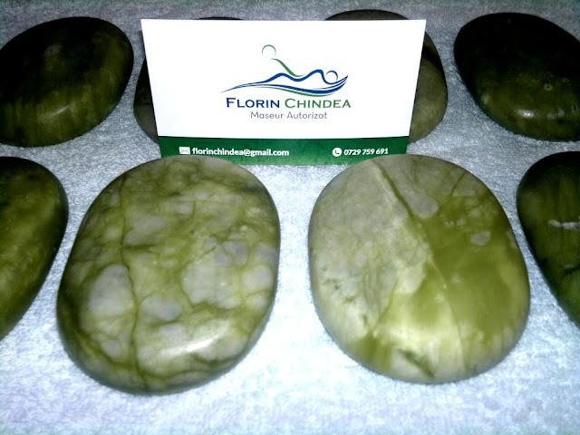 Masaj cu pietre de Jad calde. Detoxifiere naturală. Florin Chindea, maseur autorizat Timişoara. Carte de vizită