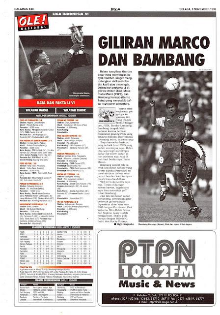 LIGA INDONESIA VI MARCO DAN BAMBANG HARSOYO