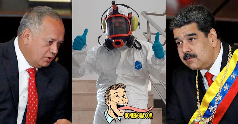 Diosdado pudo haber contagiado a todos lo que asistieron a su programa