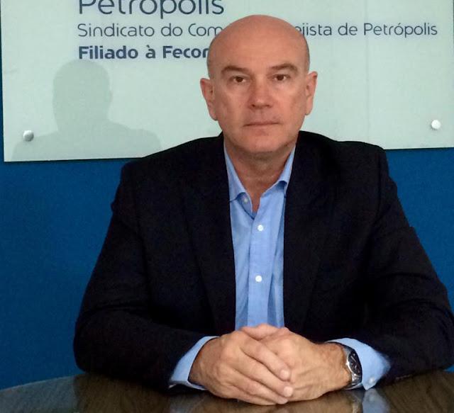 Marcelo Fiorini, Presidente do Sicomércio Petrópolis