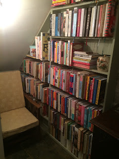The book nook reveal, do you love cookery books?