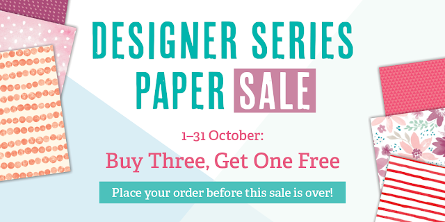 Designer Series Paper Sale - 1st to 31st Oct 2016 - Simply Stamping with Narelle - available here - http://www3.stampinup.com/ECWeb/ItemList.aspx?categoryid=30400&dbwsdemoid=4008228