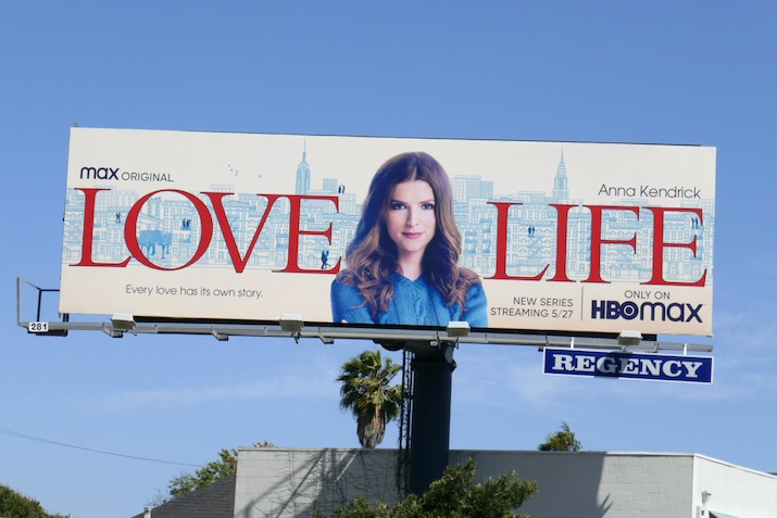 Love Life series premiere billboard