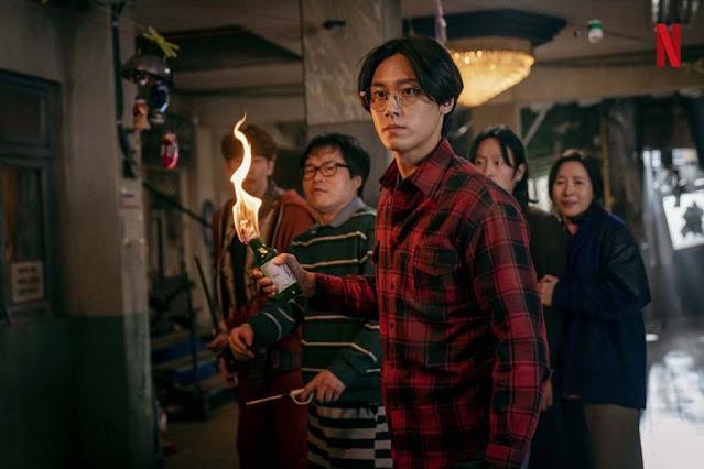 Lee Do-Hyun as Lee Eun-Hyeok : Drama Korea Sweet Home