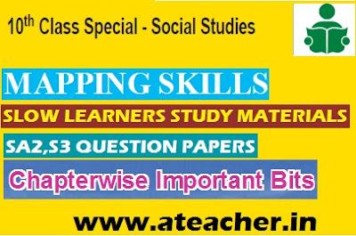 AP / TS SSC/10th Class Social Important Questions for C Grade Students Action Plan