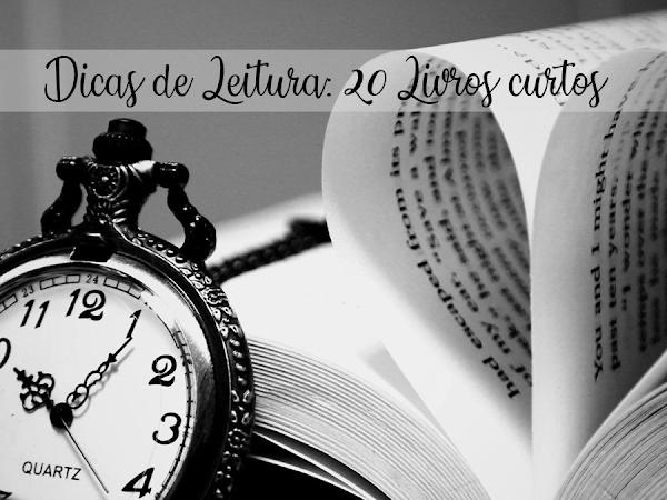 Dicas de leitura: Livros para ler em um único dia
