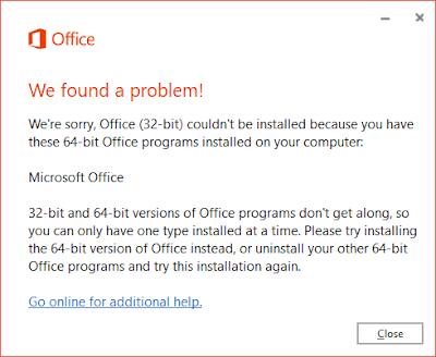 cara uninstal aplikasi office 365