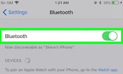 Cara Menghubungkan Headphone Bluethooth di iPhone atau iPad 3