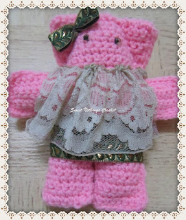 amigurumi, crochet teddy bear free pattern