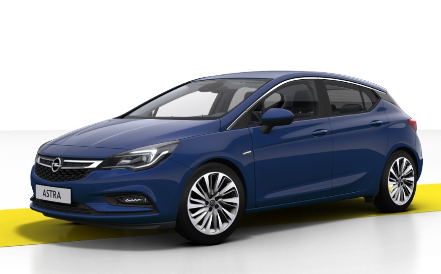 Opel Astra Royal Blue >> Opel Astra V (2018) - Couleurs / Colors