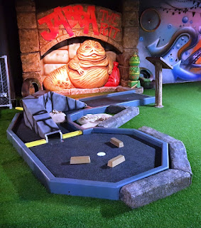 Trailer Trash Jim's Crazy Golf at Level Preston