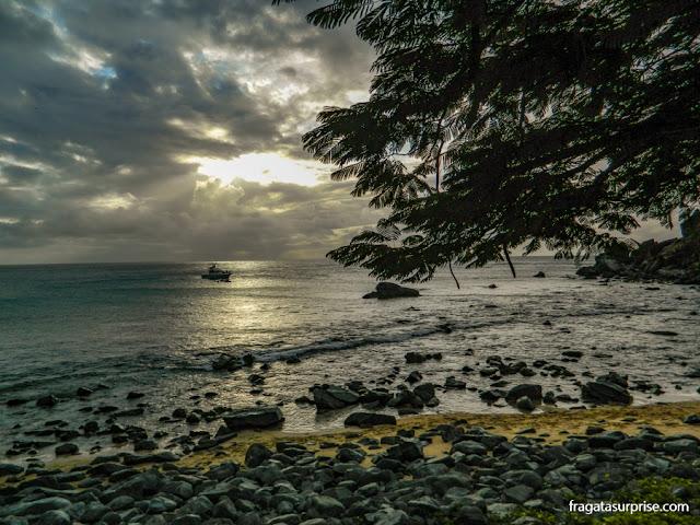 Entardecer na Praia da Conceição, Fernando de Noronha
