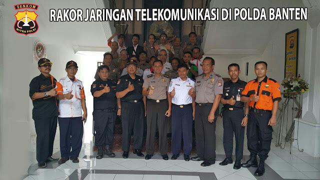 Rakor TI di Polda Banten