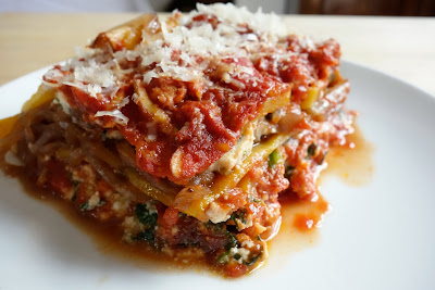 Knife + Cork: Gluten Free Lasagna and Cote du Rhone