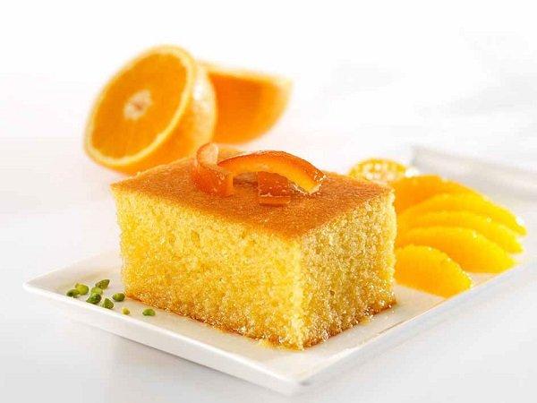 How to make an orange (basbousa)