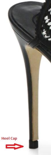 Shoe Heel Cap