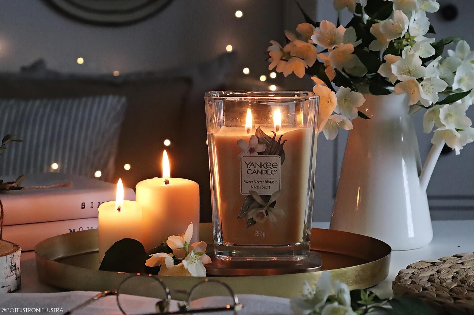 sweet nectar blossom yankee candle świeca zapachowa