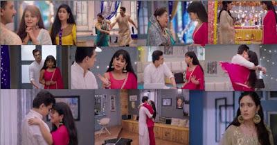 "Yeh Rishta Kya Kehlata Hai Episode 18th September 2019 Written Update "" Naira-Kartik's Happy Moments Vedika Tells Naira to leave """