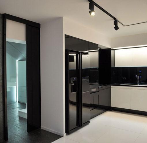 Electrodomesticos Negros Kansei Cocinas Servicio Profesional De - Electrodomesticos-negros