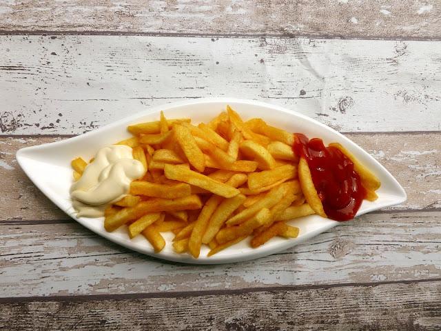 Cómo freír patatas con solo una cucharada de aceite.