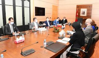 وزير التربية الوطنية يجتمع بمدير عمليات البنك الدولي