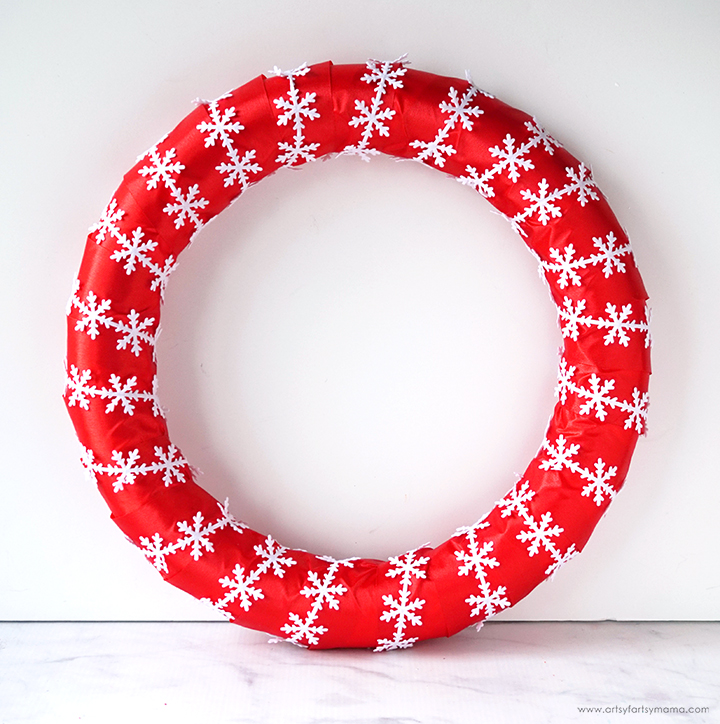 Christmas Elf Laundry Wreath
