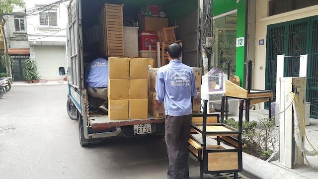 chuyển văn phòng bằng xe bán tải