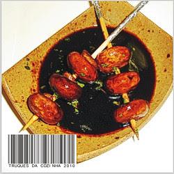 Espetinhos de Cogumelos Tipo Finger Food