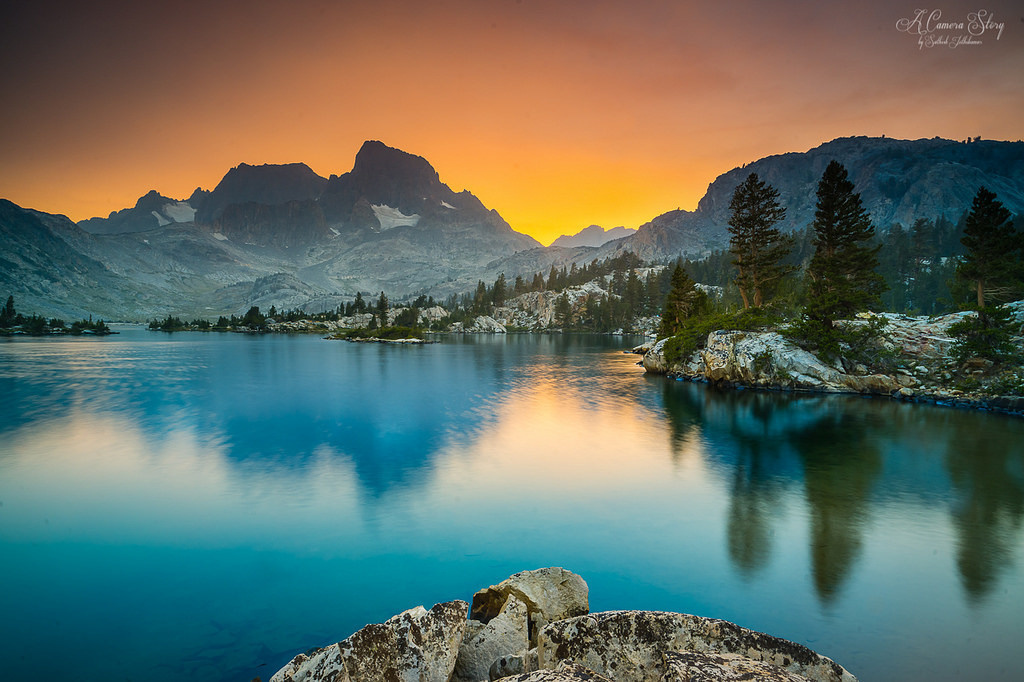 thousand island lake ansel adams wilderness