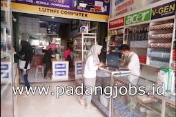Lowongan Kerja Padang: CV. Luthfi Komputer Juni 2018