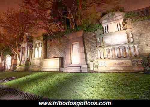 cemiterio goticos assombrado