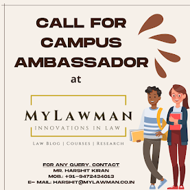 Call for Campus Ambassador at MyLawman