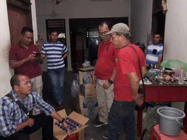 Polsek Cengkareng Mengungkap Pabrik Miras