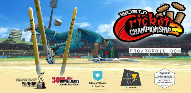 لعبة World Cricket Championship 2 v2.8.8.1 مهكرة للأندرويد (اخر اصدار) logo