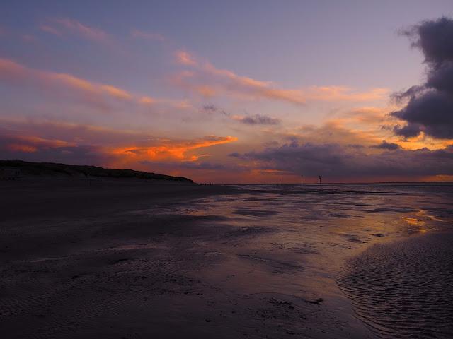 Langeoog, Nordsee, Friesland, sunset, Sonnenuntergang, Strand