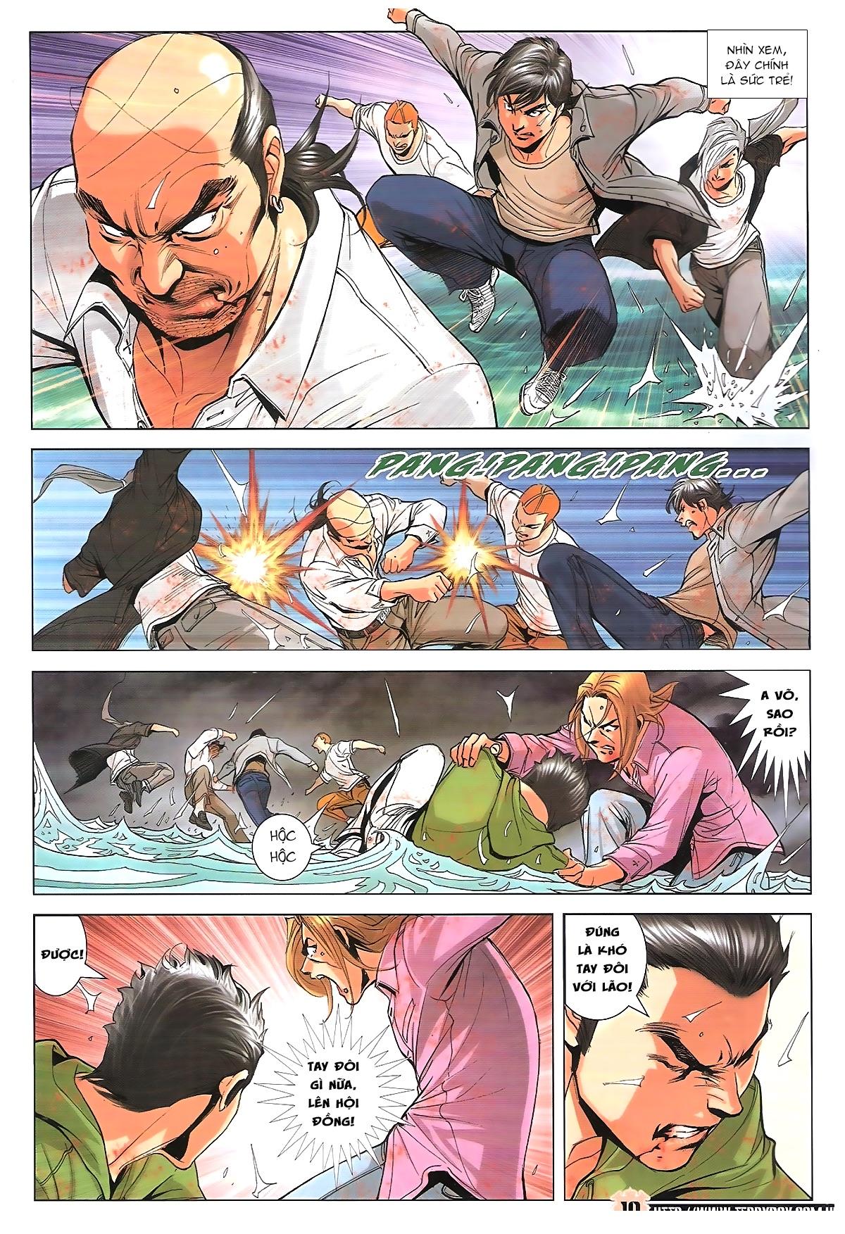 Người Trong Giang Hồ chapter 1761: thủy chiến trang 9