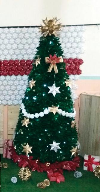 Árvore de Natal decorada 2mt (N0006)