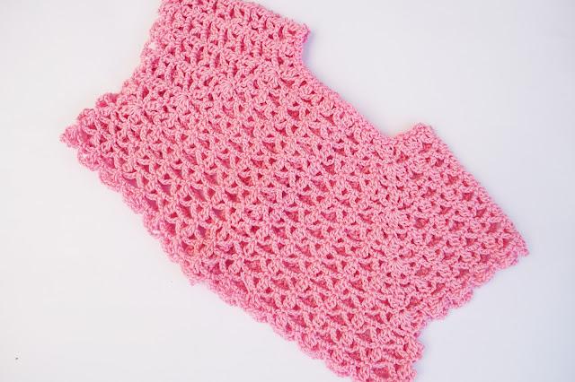 Crochet Imagen Canesú a crochet para vestidos de verano por Majovel crochet