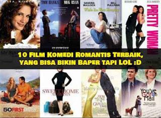 top 10, film komedi, film romantis, rekomendasi film