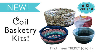 Coil Basketry Kits: 6 Designs available!