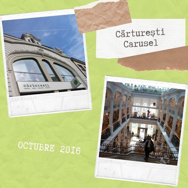 Librería Cărturești Carusel (Bucarest, Rumanía)