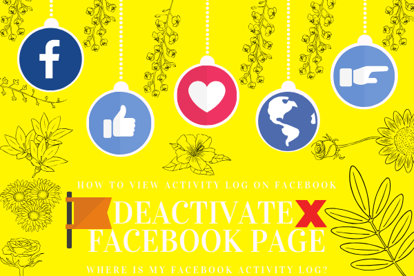 How To Disable A Facebook Page