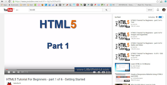 YouTube with HTML5