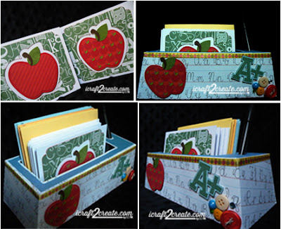 Back to School, SVGCuts.com, cards, stationery set, papercrafts, DIY, school, fall, autumn